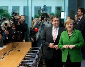 Der Koalitionsvertrag steht. Freuen kann sich vor allem die SPD. Bild: spd.de