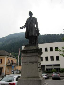 Statue von Stafano Franscini. Bild: Eigene Aufnahme
