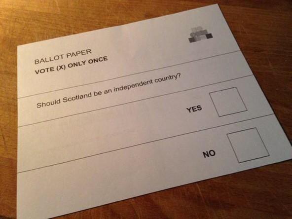 essay on scottish independence scottish independence paper ballot