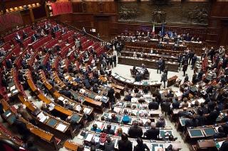 Bald ein Hort der Stabilität? Die Abgeordnetenkammer des italienischen Parlaments in Rom. Bild: Palazzo Chigi (Flickr)