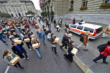 Unterschriften Bundesplatz