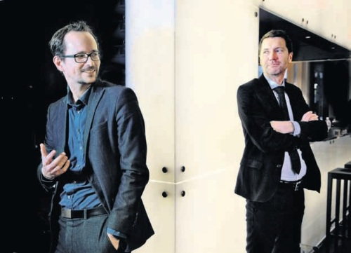 Balthasar Glättli und Peter Grünenfelder. (Foto: Nadia Schärli)