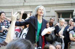 Jill Stein bei «Occupy Wall Street» (Foto: Paul Stein)