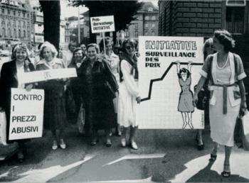 Einreichung Volksinitiative «zur Verhinderung missbräuchlicher Preise» 1979