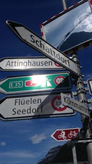 Die Zeichen für Schattdorf, Attinghausen, Flüelen und Seedorf stehen auf Doppelproporz.